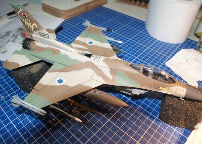 F-16C - Barak