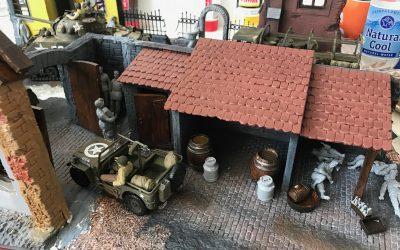 WW2 Diorama