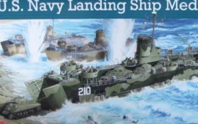 US Navy landing ship